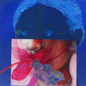 Kind, 2015, 15x15, collage/gem.techniek