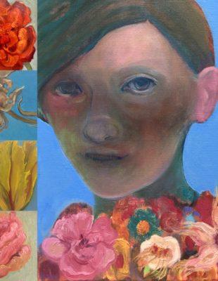 Bloemen, groepsexpositie in Galerie Posthuys Texel, 6/5 tm 16/8