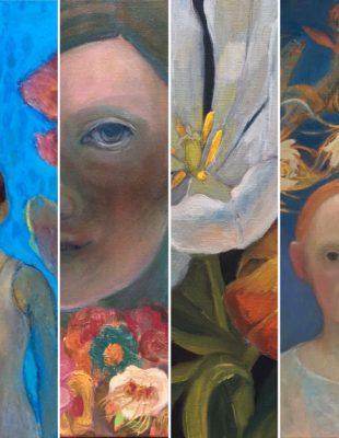 Bloemen in Galerie Posthuys