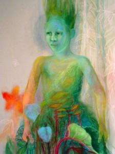 FLORA, 2007, 100X70, SOFT PASTEL