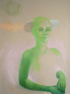 Houvast, 2006, 100x70, soft pastel