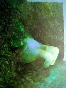 De tuin, 1997, 120x100, o/l
