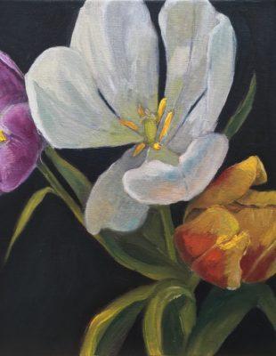 Bloemen, groepsexpositie in Galerie Posthuys Texel, 6/5 tm 28/6 - OP AFSPRAAK