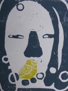 Boodschap, 2014, 19x18