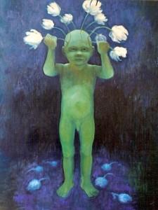 Samson, 2001, olie op linnen, 100x80