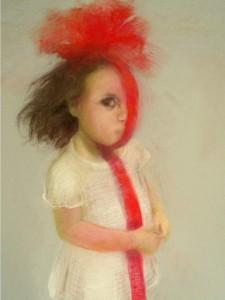 Spaans meisje, 2005, 70X50, soft pastel (coll.kunstenaar)