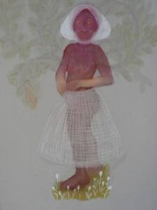 Bloeiend, 2011, 100x70, Soft pastel