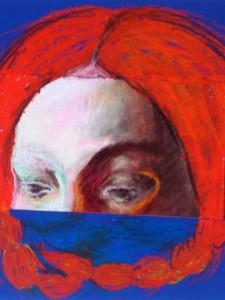 Vlechten, 2015, 15x15, gem.techniek op mdf